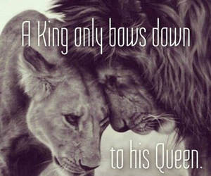 beauty, king, and love image