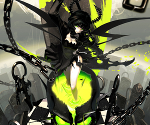 anime, dead master, and black rock shooter image