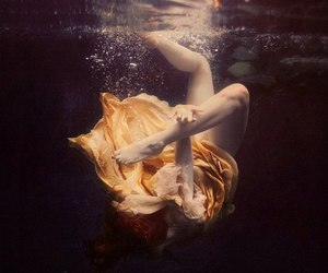 water and underwater image
