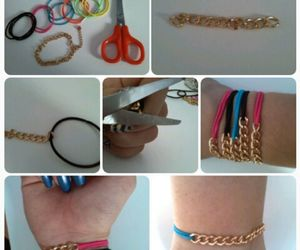accessoires, tutorial, and diy image