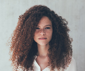girl and curly image