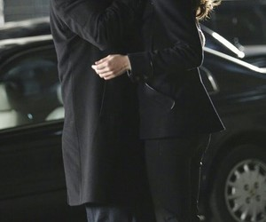 beckett, castle, and kissing image