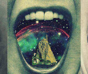 mouth, drugs, and galaxy image