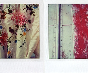 diptych, lovely things, and polaroid image