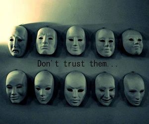 trust, mask, and life image