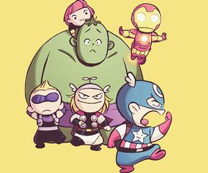 Avengers, Hulk, and smile image