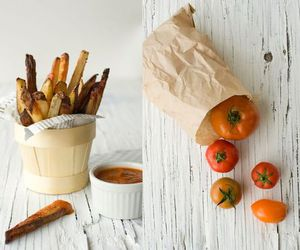 food, fries, and food and drink image