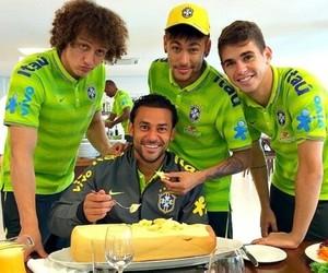 neymar, david luiz, and oscar image