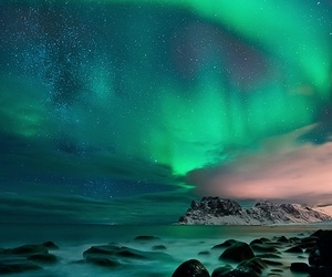 nature and northern lights image