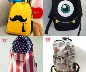 bags, Best, and moustache image