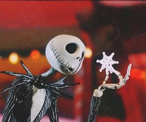 christmas, skeleton, and creepy image