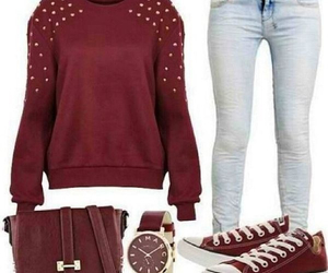 high school, cute outfits, and outfits for school image