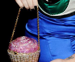 bag, cupcake, and fashion image