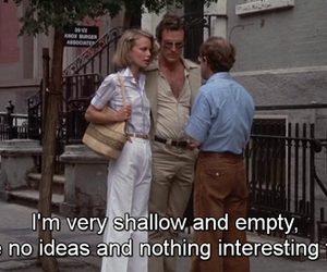 annie hall, empty, and funny image