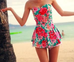 dress, summer, and beach image