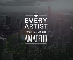 quote, artist, and amateur image