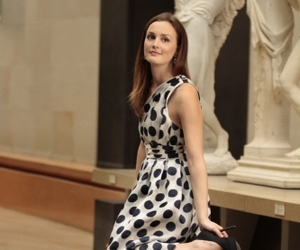 gossip girl, leighton meester, and blair waldorf image
