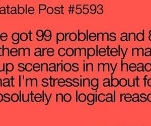 funny, problems, and quote image