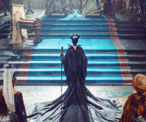 maleficent, disney, and Angelina Jolie image