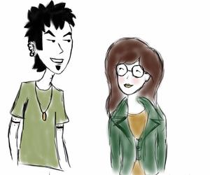 artist, Daria, and drawing image