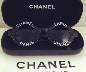 chanel and sunglasses image