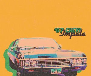 chevrolet, supernatural, and 67 chevy impala image