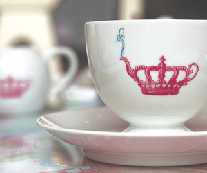shabby chic and tea cup image