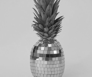pineapple, yellow, and disco image