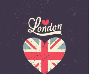 london, wallpaper, and heart image