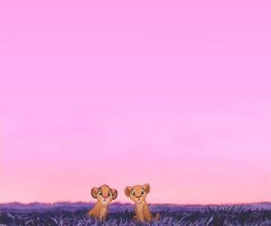 disney, simba, and lion image