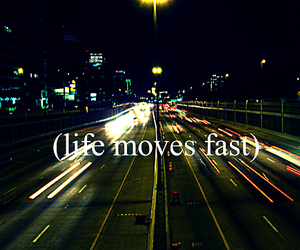 life, text, and fast image