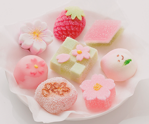 sweet, food, and pink image