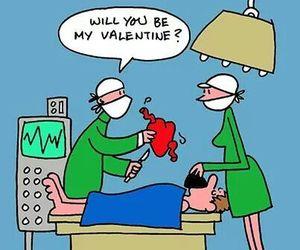 doctor, heart, and joke image