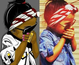 baby, dope, and trill image