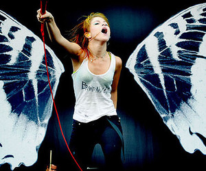 paramore, hayley williams, and butterfly image