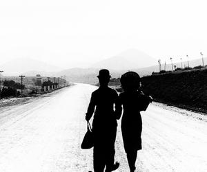 30s, charlie chaplin, and couple image