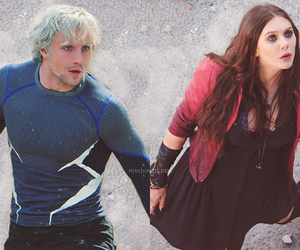 aaron johnson, elizabeth olsen, and heroes image