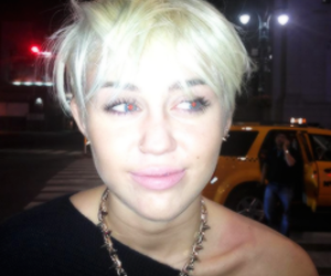 hair and miley cyrus image