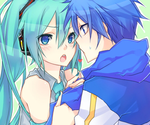 anime, kaito, and vocaloid image