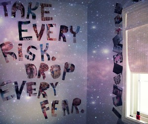quote, room, and fear image