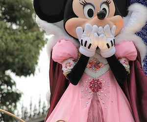 disney, minnie, and pink image