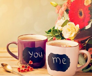 love, flowers, and me image