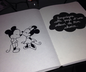 disney, drawing, and mickey mouse image