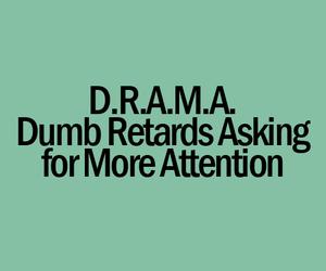 drama and dumb image