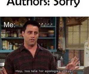 book, authors, and sorry image