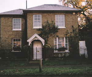 vintage, house, and home image