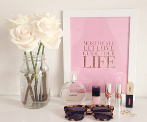 life, rose, and beauty image