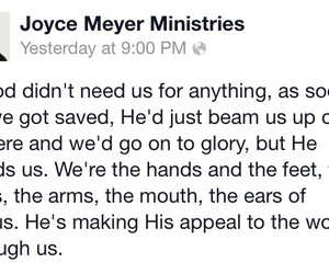 god, jesus, and joyce meyer image