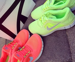 nike, fitness, and green image