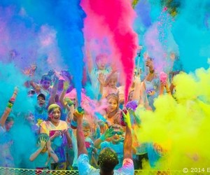 colorful, colors, and run image